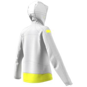 adidas Marathon Jacket Women, biały/żółty